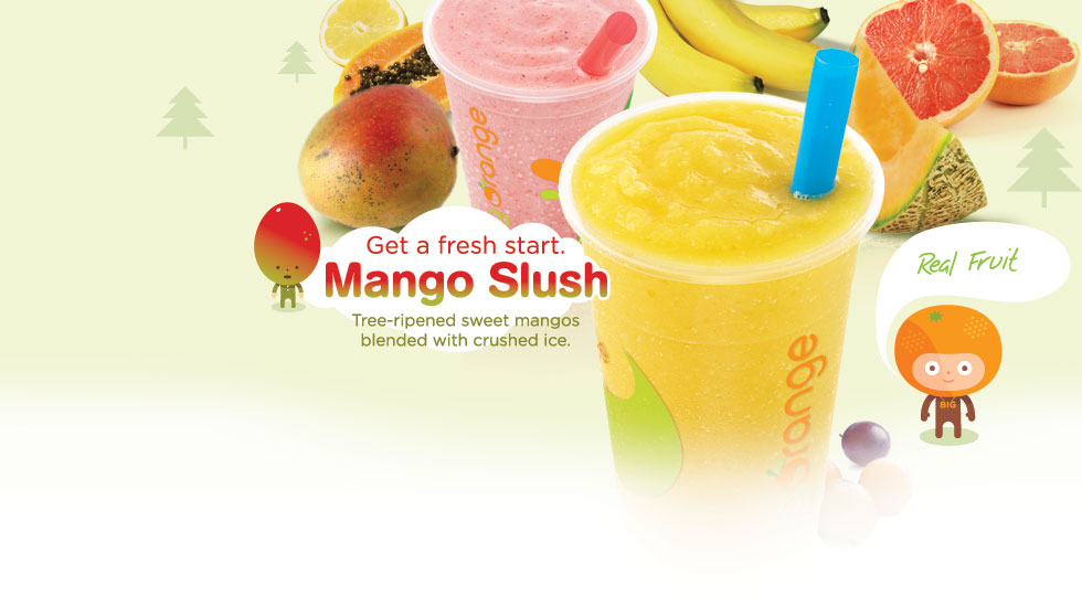 Big Orange Mango Slush